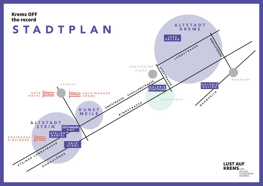 Stadtplan-Krems