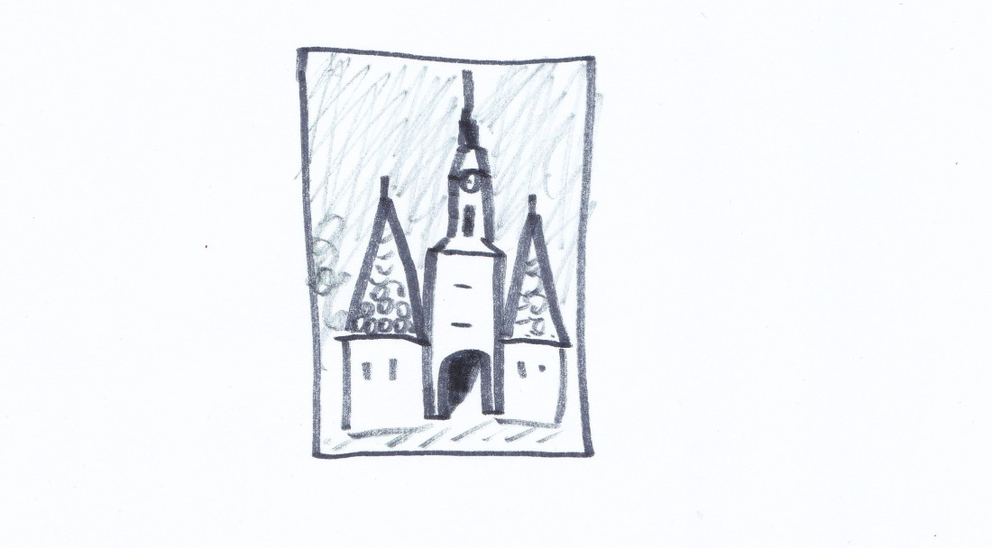 Zeichnest du uns eine Krems-Postkarte